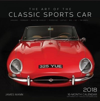 The Art of the Classic Sports Car 2018 Calendar