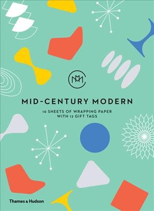 Mid-century Modern Wrapping Paper, Thames & Hudson