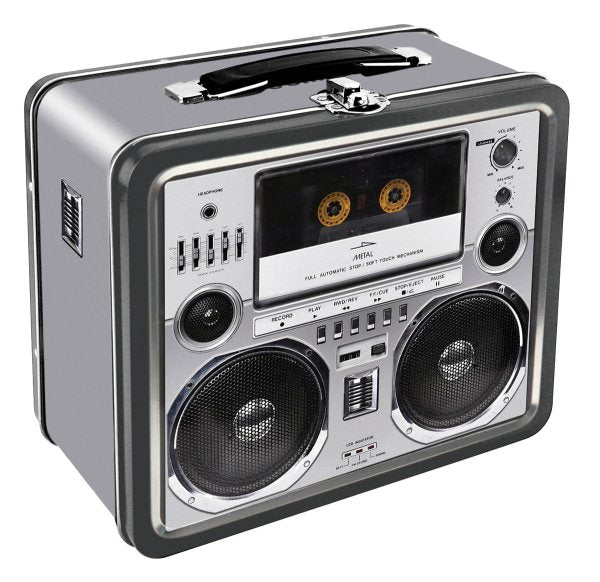 Aquarius Boombox Lunchbox