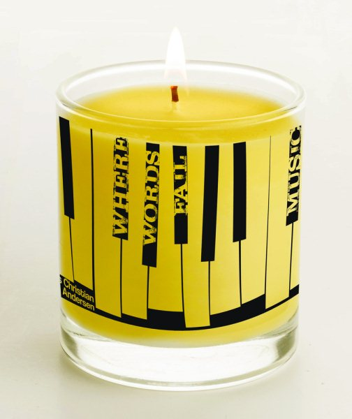 Hans Christian Andersen Candle