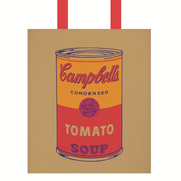 Tote Bag, Andy Warhol Campbell's Soup