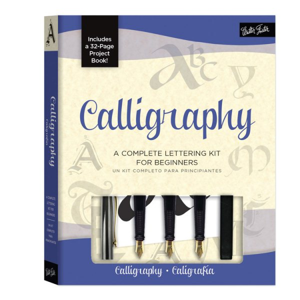 Calligraphy: A Complete Lettering Kit for Beginners