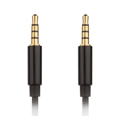 [REYTID] Sony MDR-NC50 HDR-MV1 NC500D2 MDR-1R MDR-10R Replacement Audio Cable - Black - 1.2m