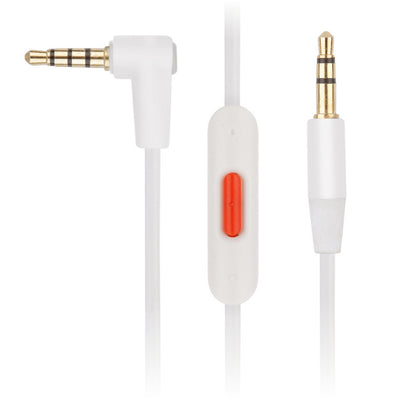 [REYTID] Beats Studio / Studio 2.0 Replacement White Audio Cable w/ Control Talk & Microphone