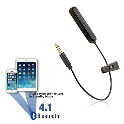 Bluetooth Adapter for iPhone 7 - Convert WIRED Headphones to WIRELESS - Wireless Converter
