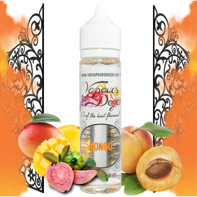 The Vapours Dozen - A range of fruit and dessert flavours that will leave your mouth watering
