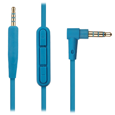 [REYTID] Blue Replacement Audio Cable Bose SoundLink SoundTrue Headphones w/ In-Line Remote & Mic