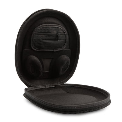 Bose QuietComfort 35 QC35 Hard Carry Case w/ Cable Holder - Black - Protective Cover