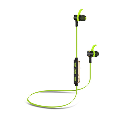 [REYTID] Wireless Bluetooth 4.1 In-Ear Headphones - iPhone Android (w/ Volume Control & Mic) - Green