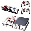 [REYTID] Xbox One Console Skin / Sticker + 2 x Controller Decals & Kinect Wrap - Blood Splatter