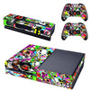 Xbox One Console Skin / Sticker + 2 x Controller Decals & Kinect Wrap - Graffiti