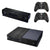 [REYTID] Xbox One Console Skin / Sticker + 2 x Controller Decals & Kinect Wrap - Black Wood Effect