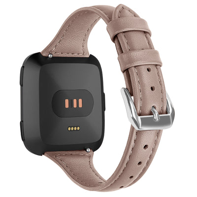 [REYTID] Fitbit Charge 2 Replacement Leather Adjustable Wrist Band Strap Watch - Variety of Colours