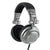 [REYTID] Black/Silver Foldable Over-Ear Adjustable Headphones 50mm Drivers Stereo DJ iPhone Android