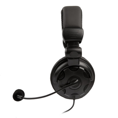 HD Bass-Driven Gaming Headset for Xbox One / PS4 w/ Mic Volume Control Mute Control - Black