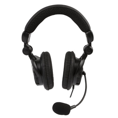 [REYTID] HD Bass-Driven Gaming Headset for Xbox One / PS4 w/ Mic Volume Control Mute Control - Black