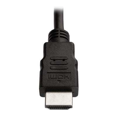 Ultra High Speed 4K UHD HDMI Cable with Ethernet Compatible with DVD Players and PC's - 1.5m Black