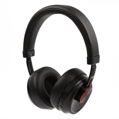 [REYTID] A1-A Noise Isolating Wireless Bluetooth Headphones On-Ear Earphones - Black - Deep Bass