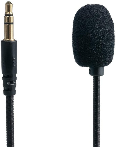 High Quality Professional Detachable Stereo Microphone 3.5mm Sound Mic for Gaming/PC Headsets