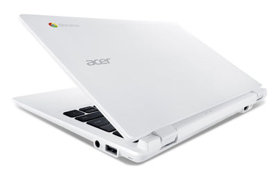 "Acer Chromebook CB3-131 11.6"" Laptop - Silver - 2GB RAM 16GB HD Intel N2840 2.2GHz WiFi Notebook B"