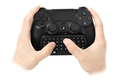 [REYTID] PS4 / Slim / Pro 2.4G Mini Wireless Keyboard ChatPad - Controller Gaming Message USB Game