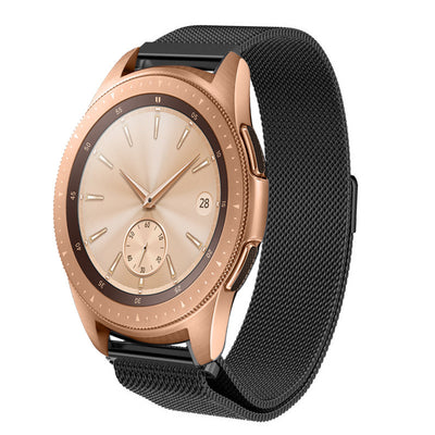 [REYTID] Replacement Milanese Various Metal Strap - Compatible for Samsung Gear S3 Frontier/ S3 Classic Galaxy - 22mm