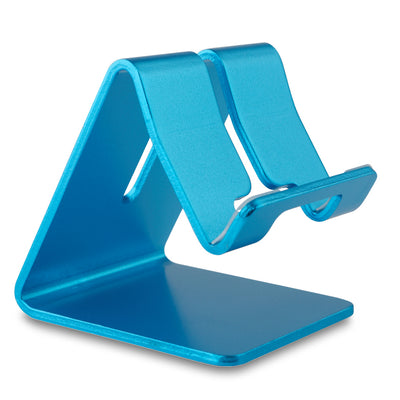 [REYTID] Premium Solid Aluminum Phone Holder for ALL Smartphones Stand Desktop Mount - Blue