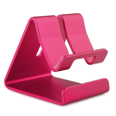 [REYTID] Premium Solid Aluminum Phone Holder for ALL Smartphones Stand Desktop Mount - Pink
