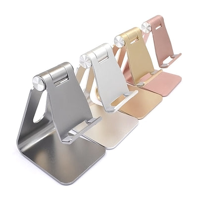 [REYTID] Premium ADJUSTABLE Solid Aluminum Alloy Phone Holder for Smartphones & Tablets - Choice of Colours