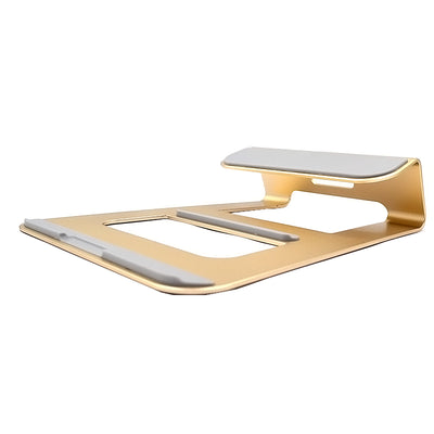 Premium LAPTOP Stand Solid Aluminum Alloy Stand Mount for Apple Macbooks & Windows - Gold