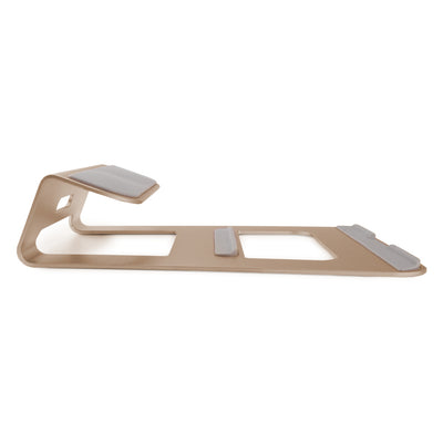 [REYTID] Premium LAPTOP Stand Aluminum Alloy Stand Mount Apple Macbooks Windows - Choice of Colours