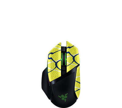 Durasoft Polymer Gaming Mouse Skin Grip Sticker Tape - PRE-CUT - Compatible with Razer Basilisk Ultimate HyperSpeed - Slip-Resistant, WaterProof and Ultra-Comfortable