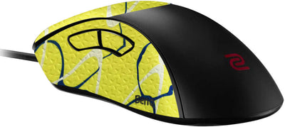 Durasoft Polymer Gaming Mouse Skin Grip Sticker Tape - PRE-CUT - Compatible with Zowie EC2 - Slip-Resistant, WaterProof and Ultra-Comfortable