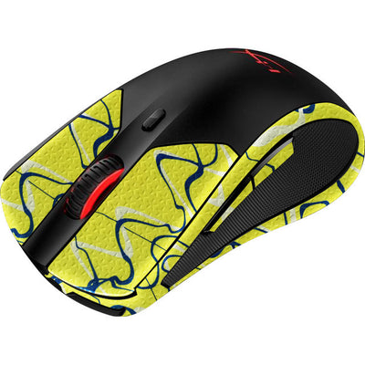 Durasoft Polymer Gaming Mouse Skin Grip Sticker Tape - PRE-CUT - Compatible with HyperX PulseFire Dart - Slip-Resistant, WaterProof and Ultra-Comfortable