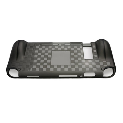 [REYTID] Nintendo Switch Console Protective Case Grip - Black TPU Surface - Handheld Travel Case