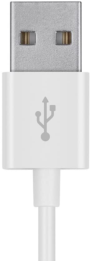 USB Charging Power Cable Compatible with HTC 7, Mozart, Pro and Trophy Smartphones