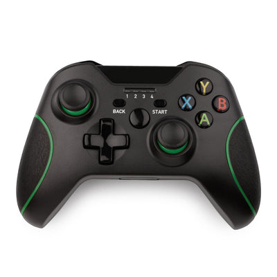 Wireless Controller Compatible with Xbox One, S and X - Black - GamePad Gaming Control Bluetooth