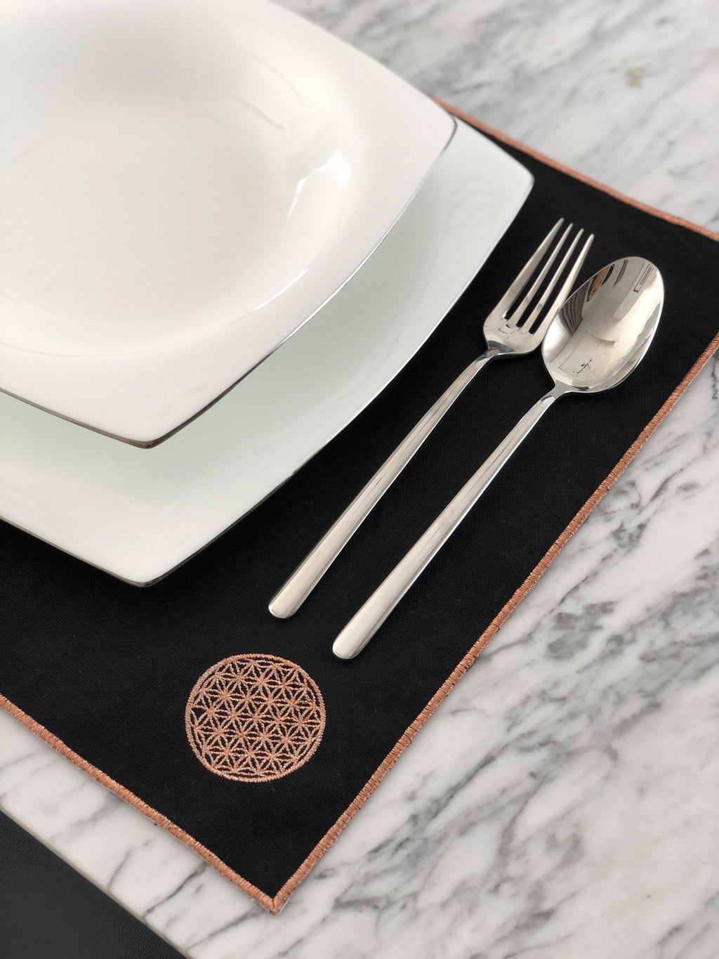 Flower of life tablemat