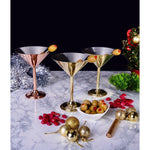 Load image into Gallery viewer, Copperland Martini Glass