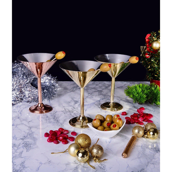 Copperland Martini Glass