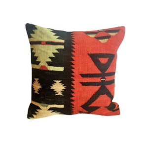 Vintage Kilim Pillow Cover no. 4
