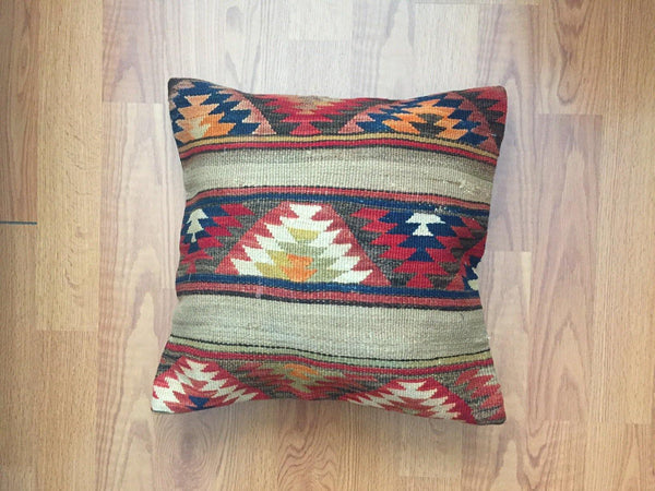 Vintage Kilim Pillow Cover nr. 9 20''x20 ''