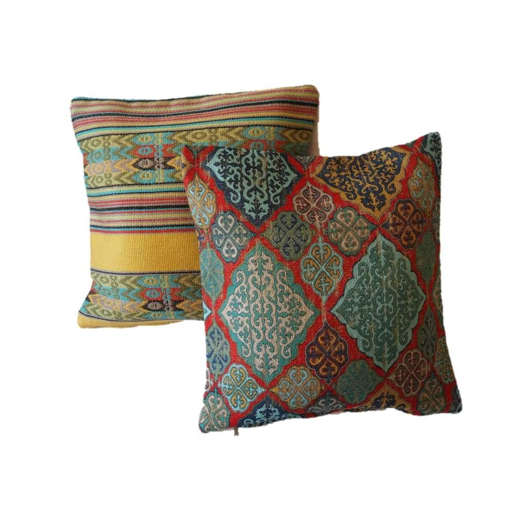 Authentic Patterned Decorative Pillow no.2 - Yastk