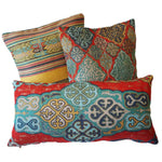 Load image into Gallery viewer, Authentic Patterned Decorative Pillow no.3 - Yastk