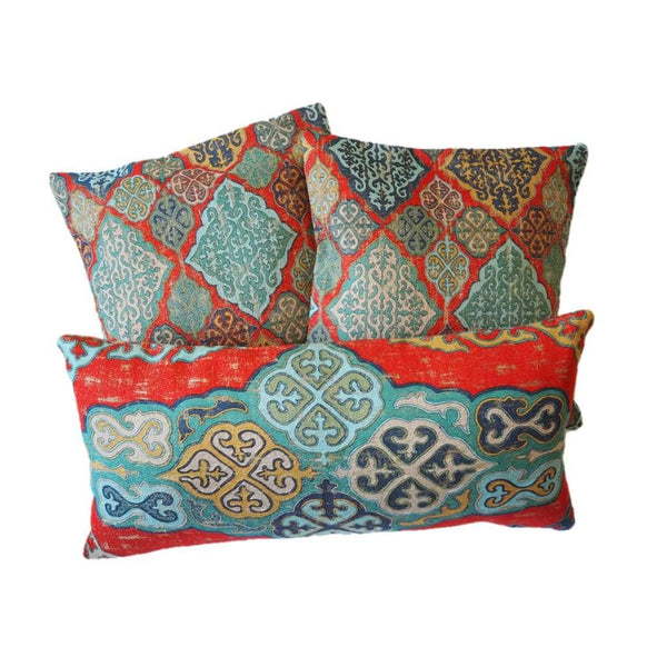Authentic Patterned Decorative Pillow no.3 - Yastk