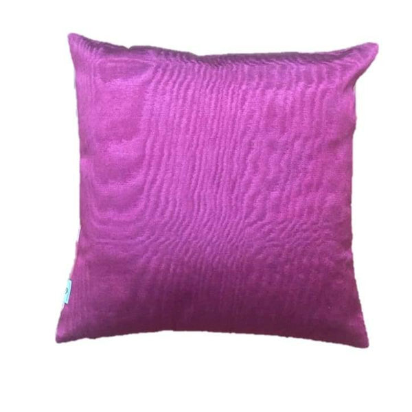 Ikat Silk Pillow - Pink - Yastk