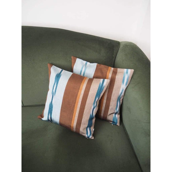 Kutnu Silk Pillow - Striped No 1 - Yastk