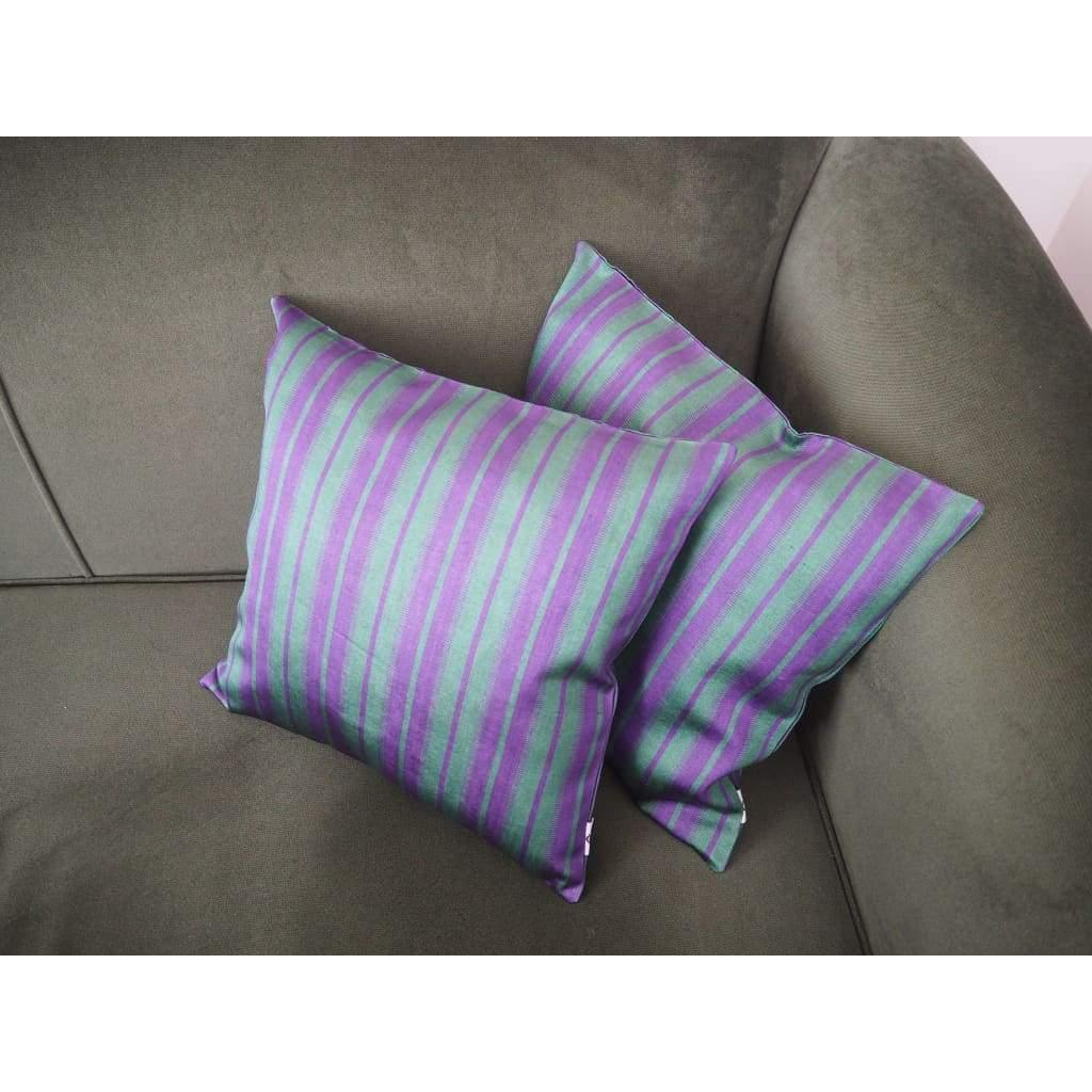 Kutnu Silk Pillow - Striped No 3 - Yastk
