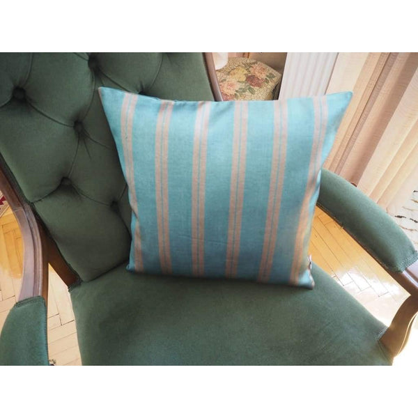 Kutnu Silk Pillow - Striped No 4 - Yastk