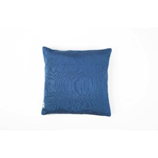 Kutnu silkekudde med broderi - Star Dark Dark Authentic Silk Cushion - Yastk